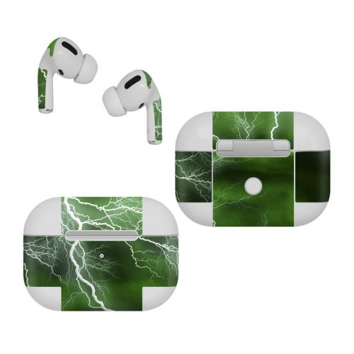 Apocalypse Green Apple AirPods Pro Skin