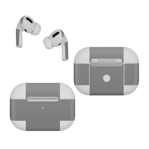 Solid State Grey Apple AirPods Pro Skin