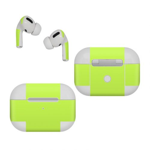 Solid State Lime Apple AirPods Pro Skin