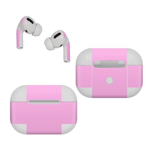 Solid State Pink Apple AirPods Pro Skin