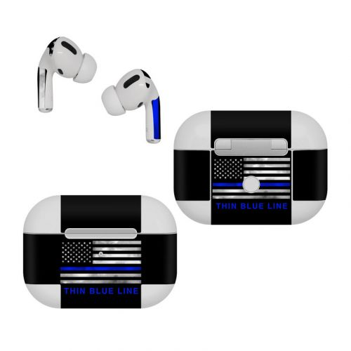Thin Blue Line Apple AirPods Pro Skin