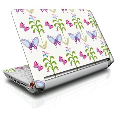 Butterfly Field Acer Aspire One Skin