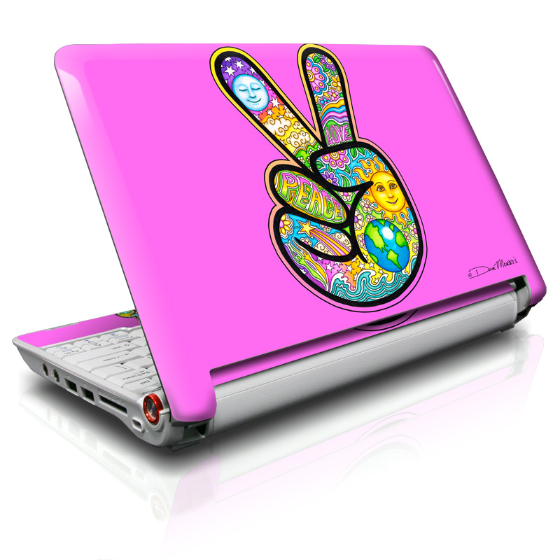Peace Hand Acer Aspire One Skin