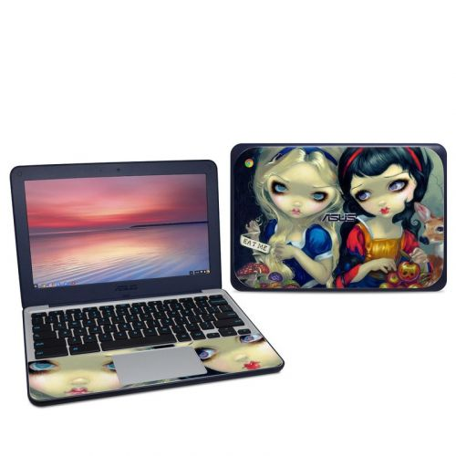 Alice & Snow White Asus Chromebook C202S Skin