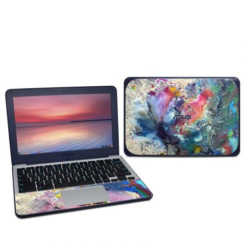 Cosmic Flower Asus Chromebook C202S Skin