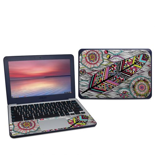 Dream Feather Asus Chromebook C202S Skin