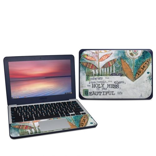 Holy Mess Asus Chromebook C202S Skin
