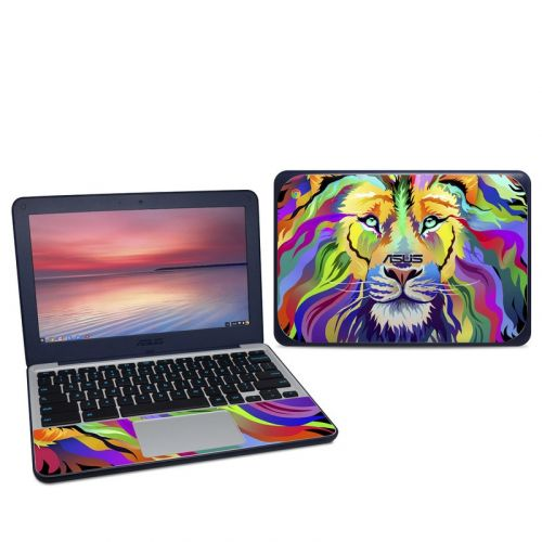 King of Technicolor Asus Chromebook C202S Skin