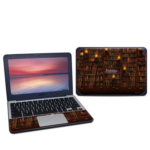 Library Asus Chromebook C202S Skin