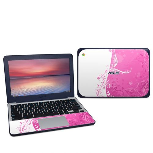 Pink Crush Asus Chromebook C202S Skin
