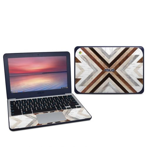 Timber Asus Chromebook C202S Skin