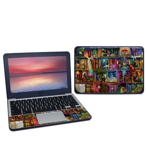 Treasure Hunt Asus Chromebook C202S Skin