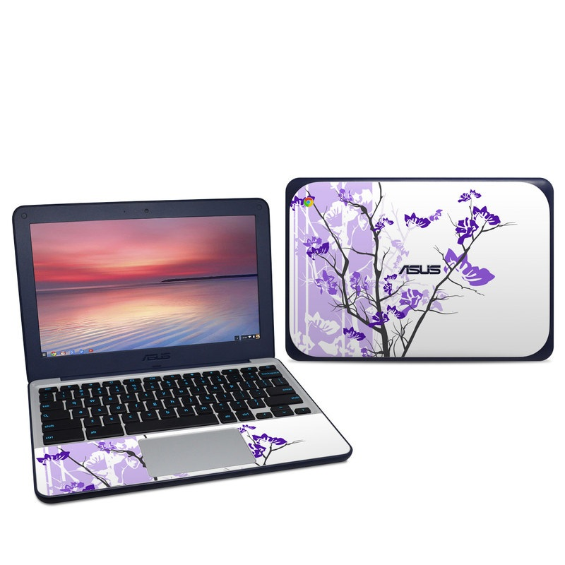 Violet Tranquility Asus Chromebook C202S Skin