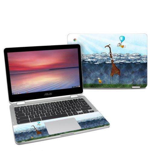 Above The Clouds Asus Chromebook Flip C302 Skin