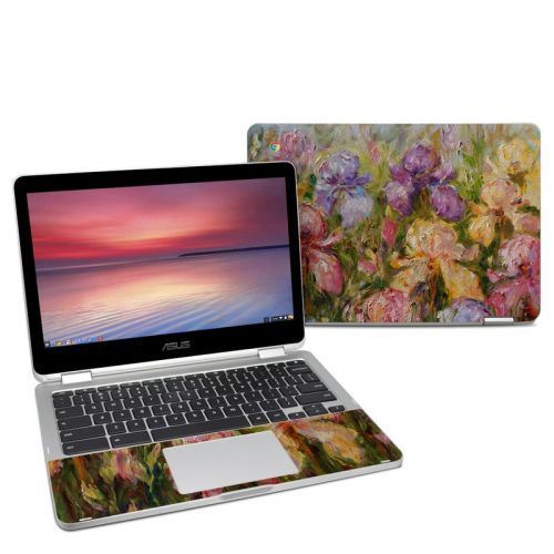 Field Of Irises Asus Chromebook Flip C302 Skin