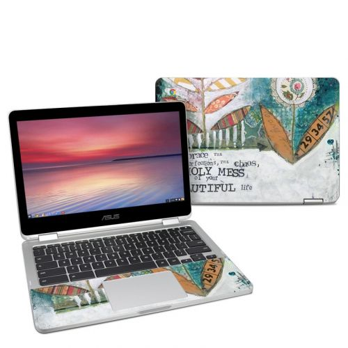 Holy Mess Asus Chromebook Flip C302 Skin