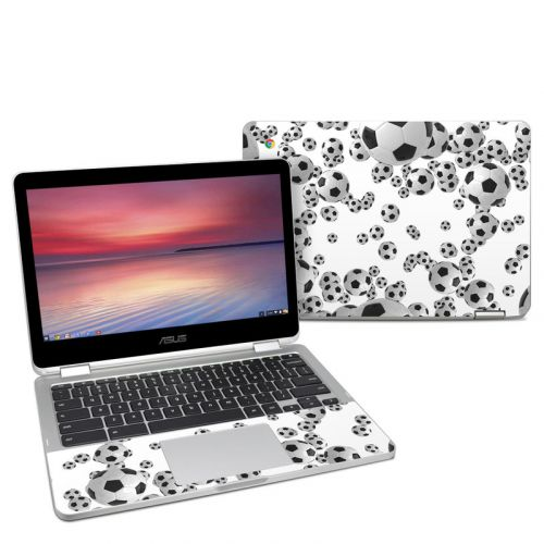 Lots of Soccer Balls Asus Chromebook Flip C302 Skin