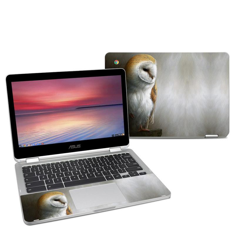 Barn Owl Asus Chromebook Flip C302 Skin