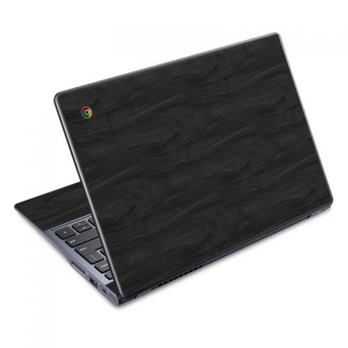 Black Woodgrain Acer C720 Chromebook Skin