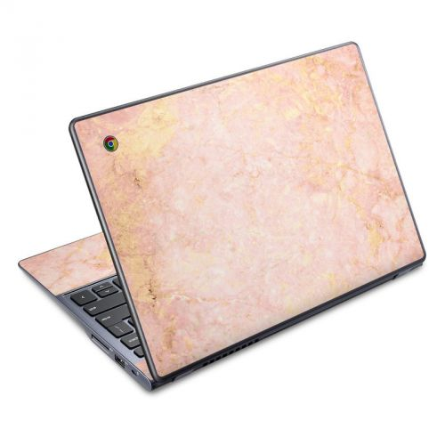 Rose Gold Marble Acer C720 Chromebook Skin
