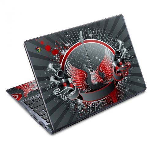 Rock Out Acer C720 Chromebook Skin