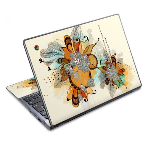 Sunset Flowers Acer C720 Chromebook Skin