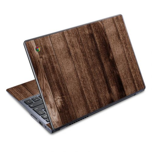 Stained Wood Acer C720 Chromebook Skin