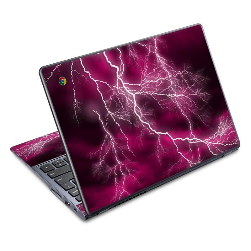 Apocalypse Pink Acer C720 Chromebook Skin