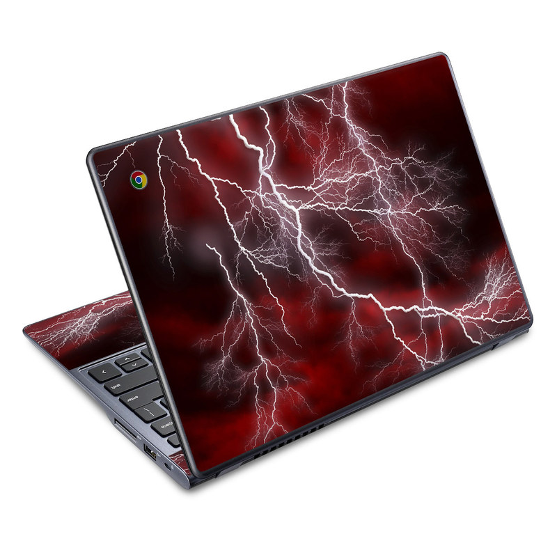Apocalypse Red Acer C720 Chromebook Skin