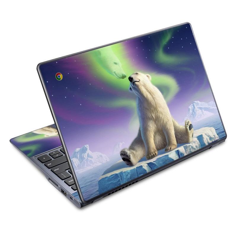 Arctic Kiss Acer C720 Chromebook Skin