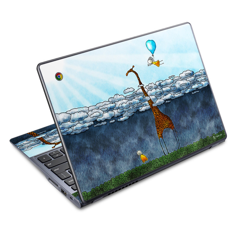 Above The Clouds Acer C720 Chromebook Skin