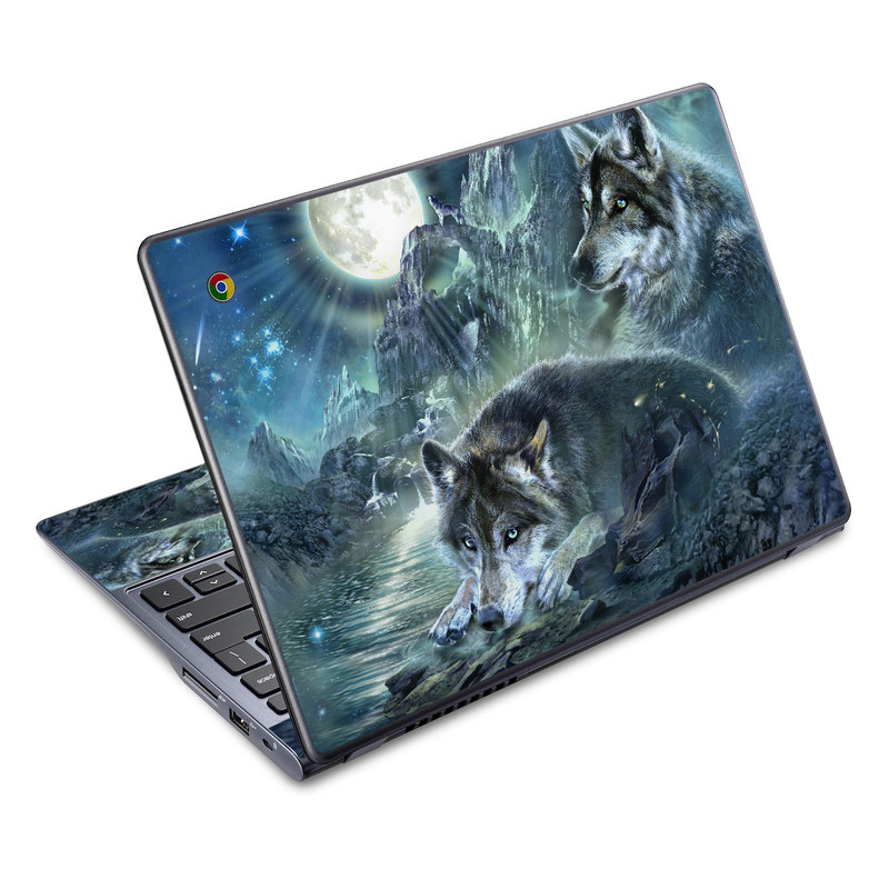 Bark At The Moon Acer C720 Chromebook Skin