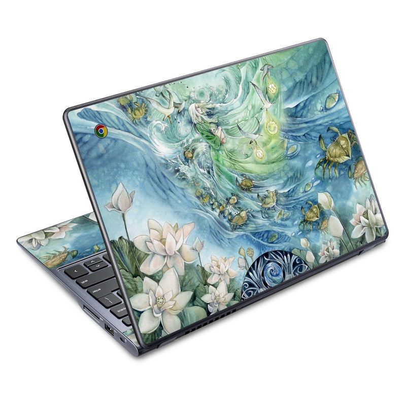 Cancer Acer C720 Chromebook Skin