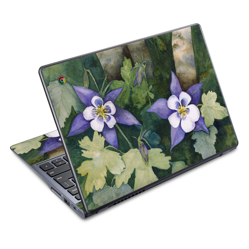 Colorado Columbines Acer C720 Chromebook Skin