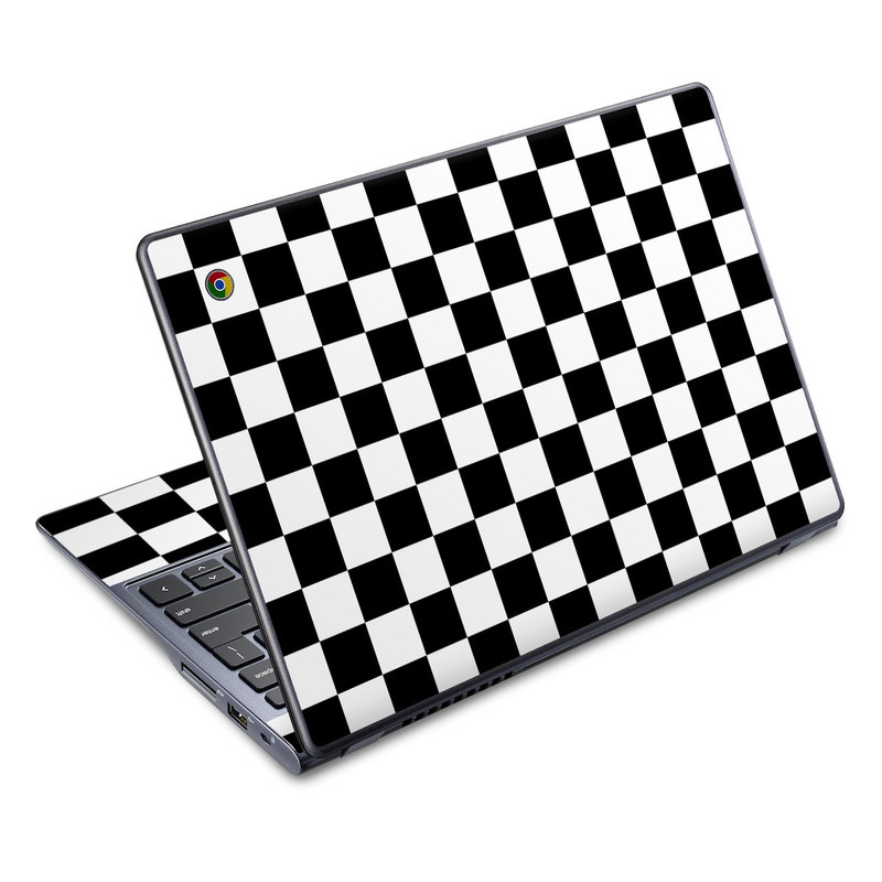 Checkers Acer C720 Chromebook Skin