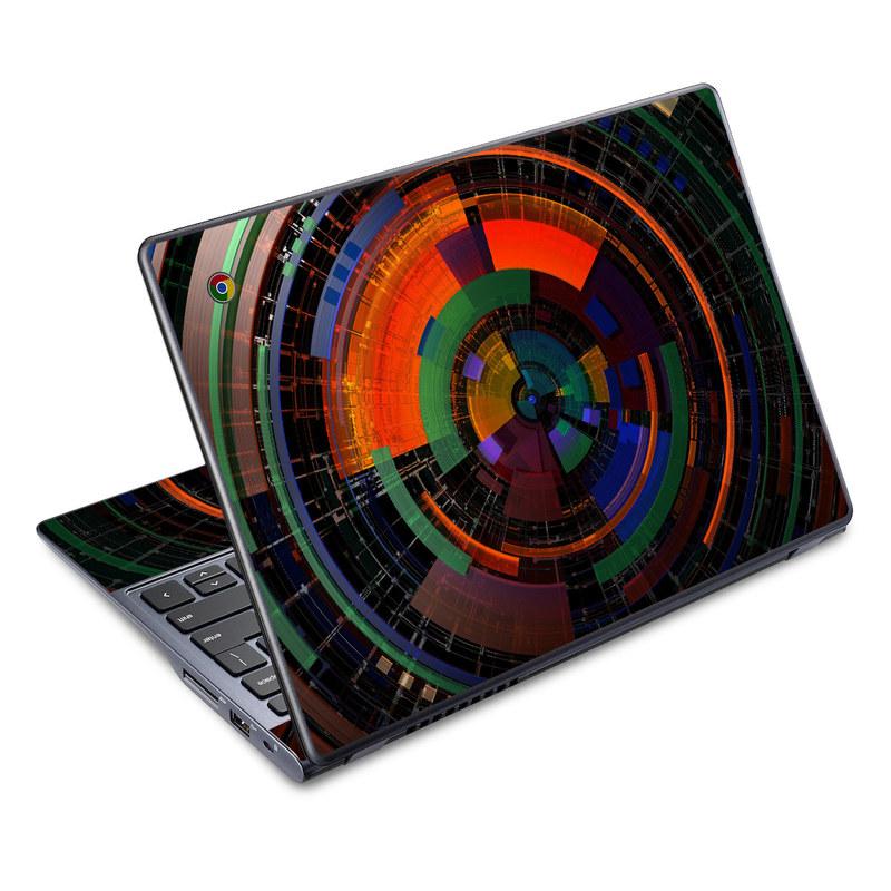 Color Wheel Acer C720 Chromebook Skin