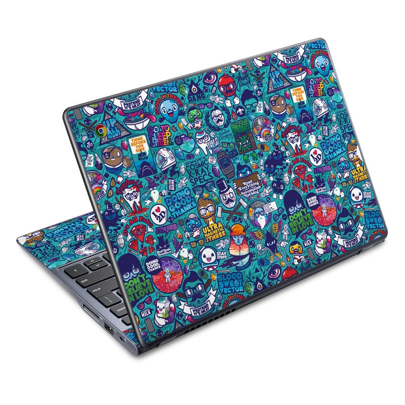 Cosmic Ray Acer C720 Chromebook Skin