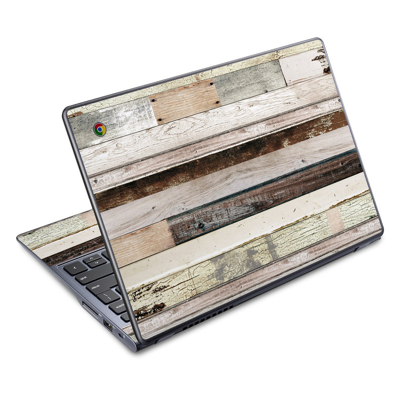Eclectic Wood Acer C720 Chromebook Skin
