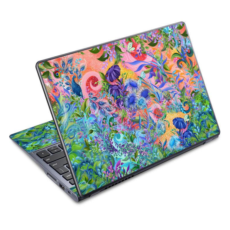 Fantasy Garden Acer C720 Chromebook Skin