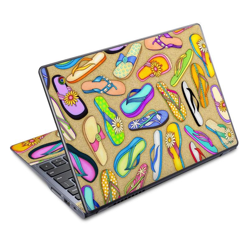 Flip Flops Acer C720 Chromebook Skin