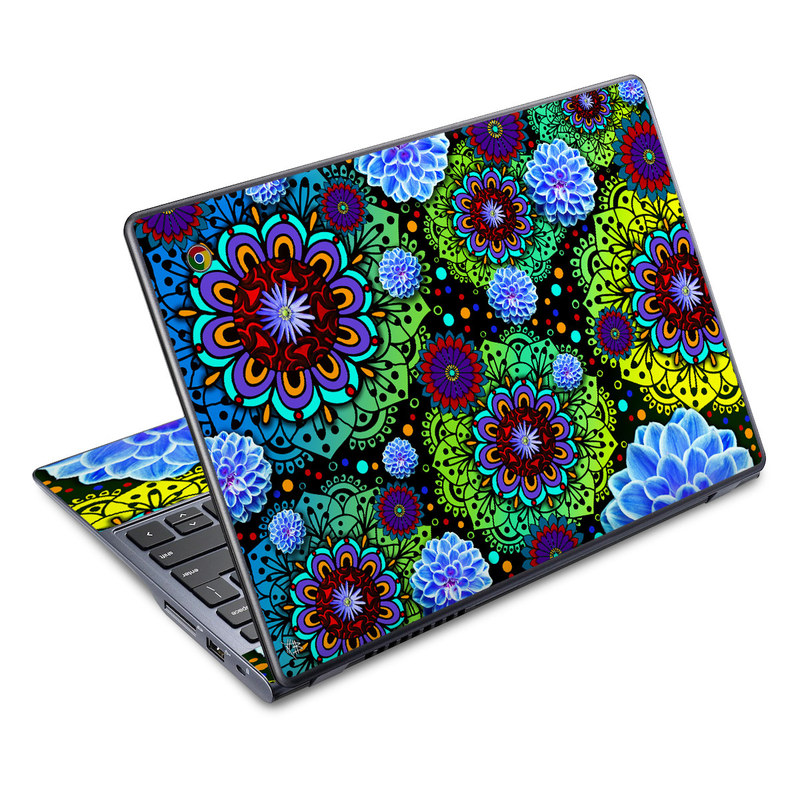 Funky Floratopia Acer C720 Chromebook Skin