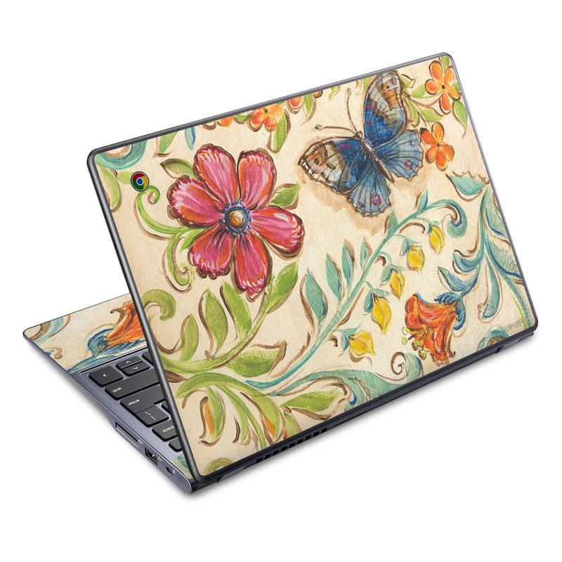 Garden Scroll Acer C720 Chromebook Skin