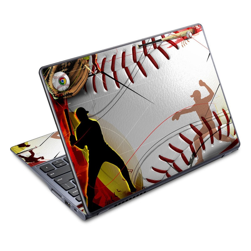 Acer C720 Chromebook Skin design of Basketball, Streetball, Graphic design, Basketball player, Team sport, Slam dunk, Animation, Basketball moves, Illustration, Ball game with gray, black, red, white, green, pink colors
