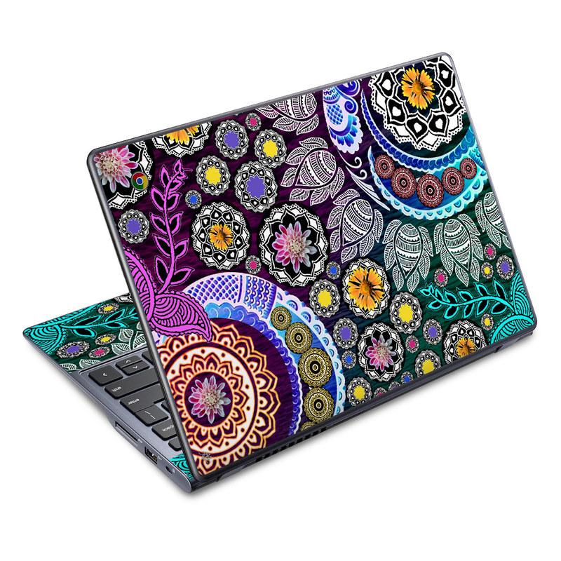 Mehndi Garden Acer C720 Chromebook Skin