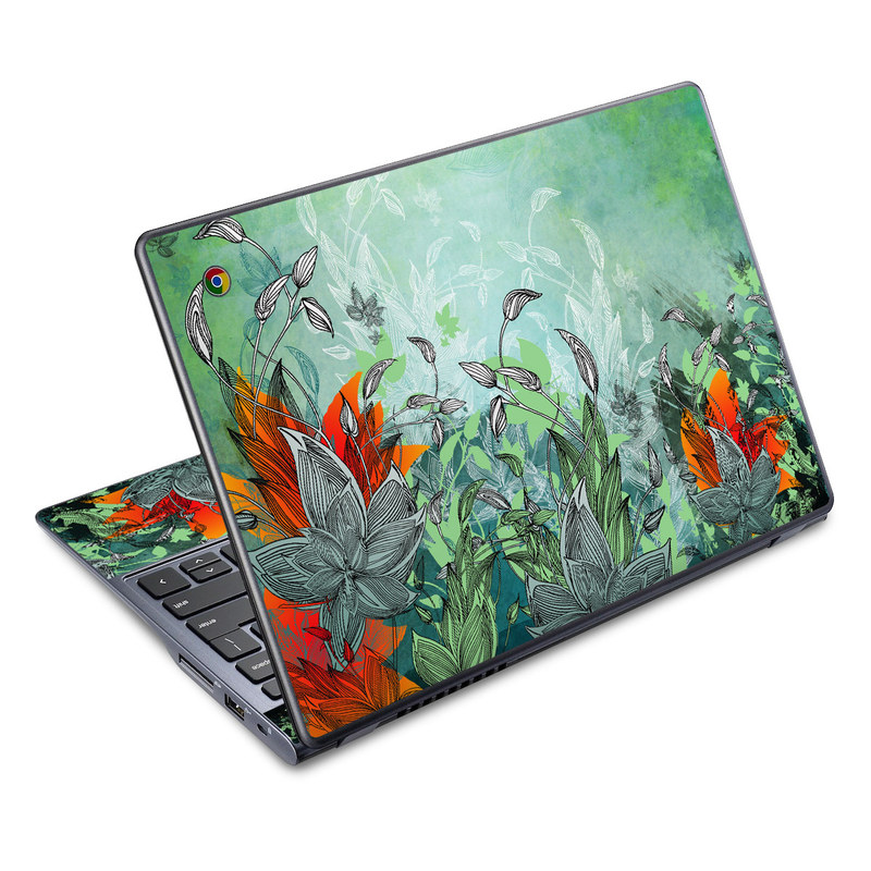 Sea Flora Acer C720 Chromebook Skin