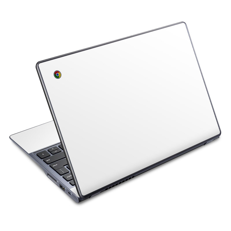 Solid State White Acer C720 Chromebook Skin