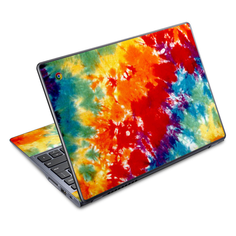 Tie Dyed Acer C720 Chromebook Skin