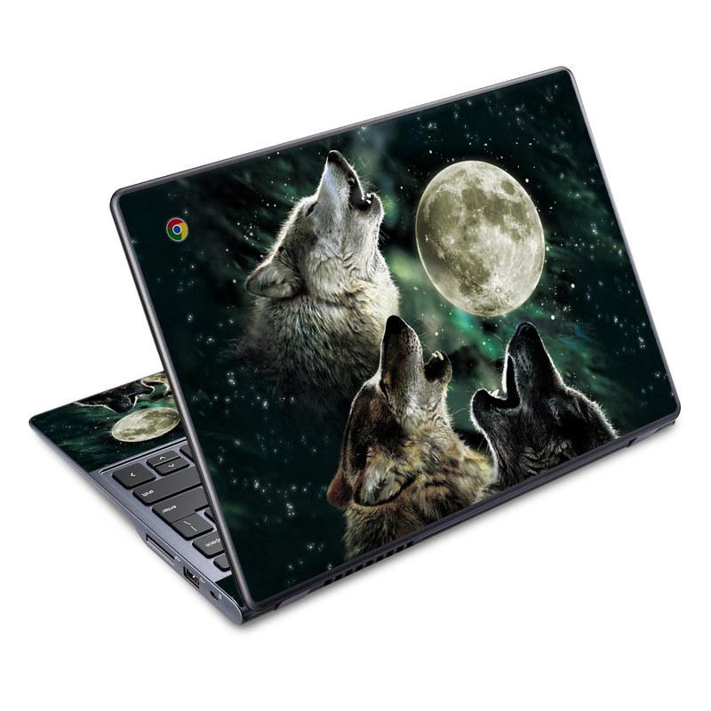 Three Wolf Moon Acer C720 Chromebook Skin