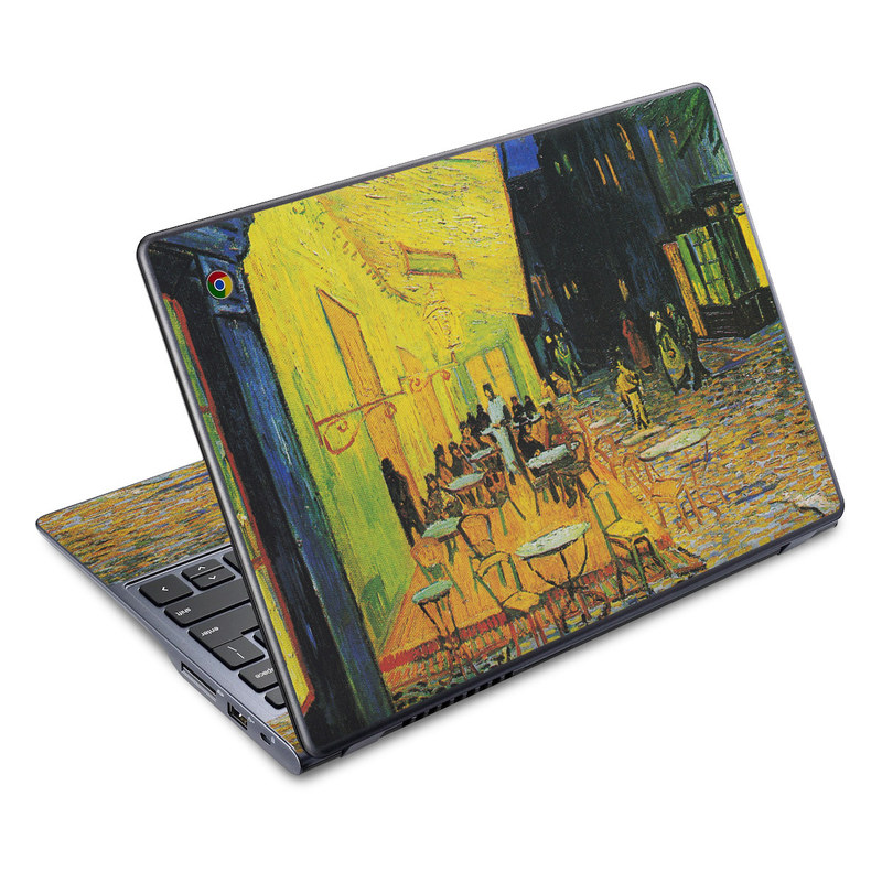 Cafe Terrace At Night Acer C720 Chromebook Skin