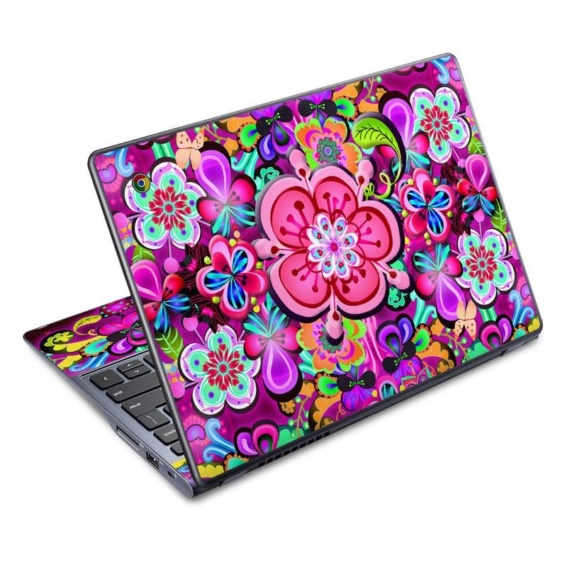 Woodstock Acer C720 Chromebook Skin